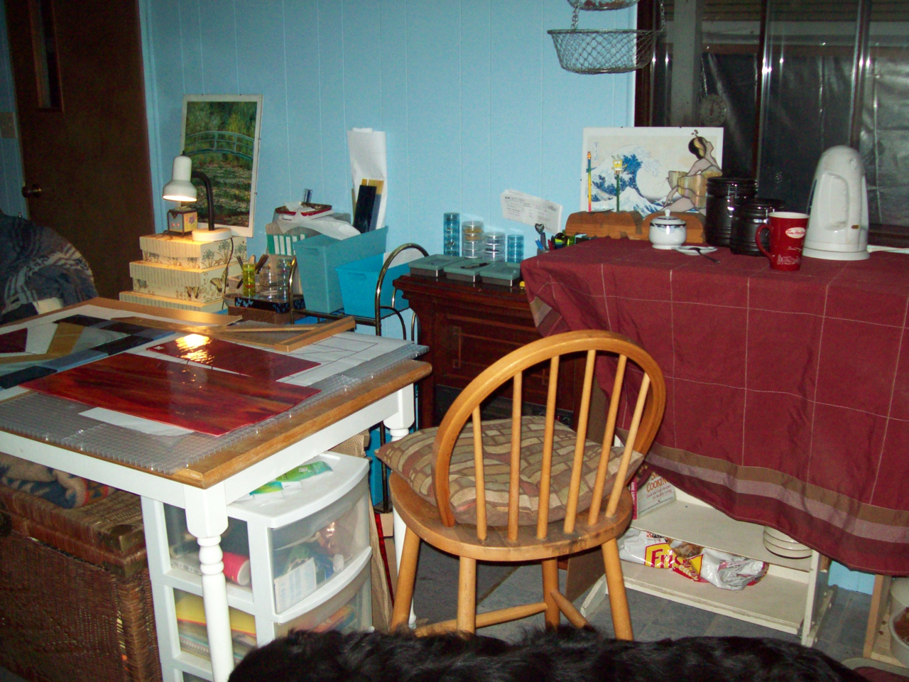 projects kitchen work table