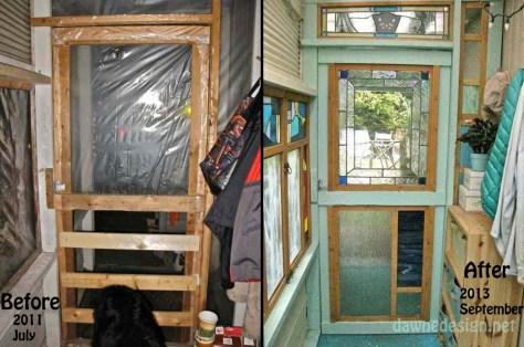 entrance inside before_after